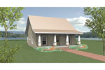 Lowcountry House Plan Front Photo 01 - 028D-0084 | House Plans and More