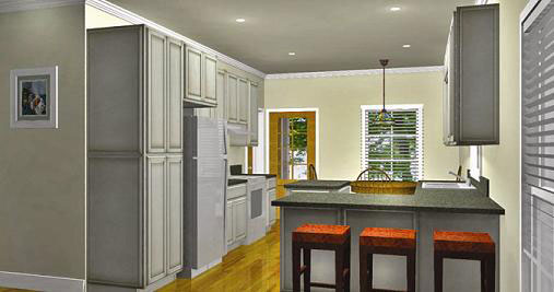 Vacation House Plan Kitchen Photo 01 - 028D-0084 | House Plans and More