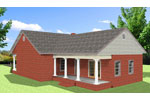 Cabin and Cottage Plan Color Image of House - 028D-0086 | House Plans and More