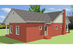 Ranch House Plan Rear Photo 01 - 028D-0086 | House Plans and More