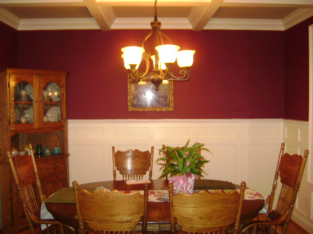 Country House Plan Dining Room Photo 01 028D-0087