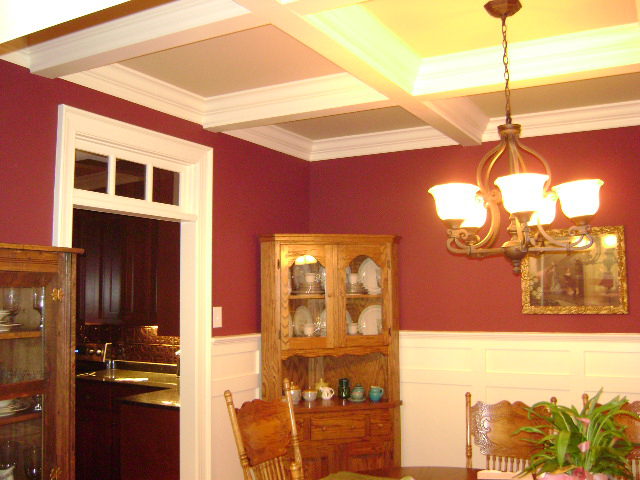 Traditional House Plan Dining Room Photo 02 028D-0087