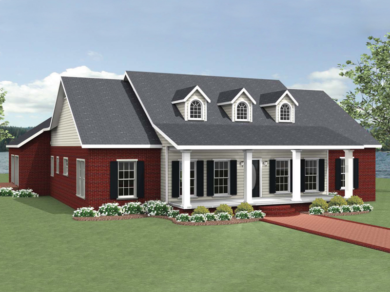 Country House Plan Front of Home - 028D-0089 | House Plans and More