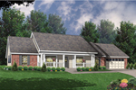 Cozy Porch Defines Country Home