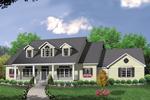 Charming Dormers Enhance Façade Of This Home