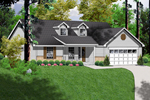 Dormers Add Country Charm To Efficient Ranch Design