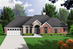 Stone And Brick Exteriors Create Upscale Appeal
