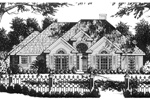 Complete, Comfortable Home Design With Large Front Windows