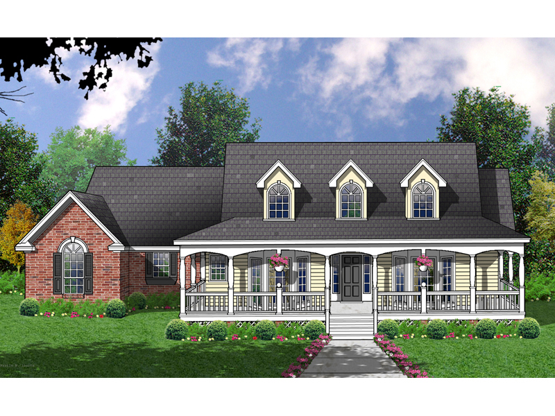 Authentic Farmhouse Style With Stylish Dormers