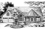 Intricate Gazebo-Shaped Porch Has Victorian Charm