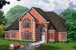 Two-Story Brick Home With Lots Of Curb Appeal