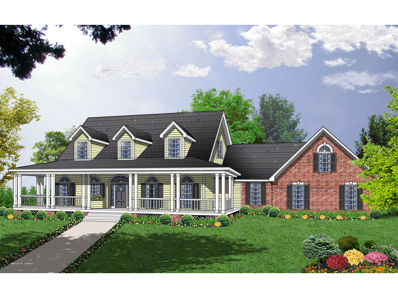 Colonia Country Farmhouse Plan 030d 0093 House Plans And
