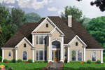 Traditional House Plan Front Image - 030D-0107 | House Plans and More