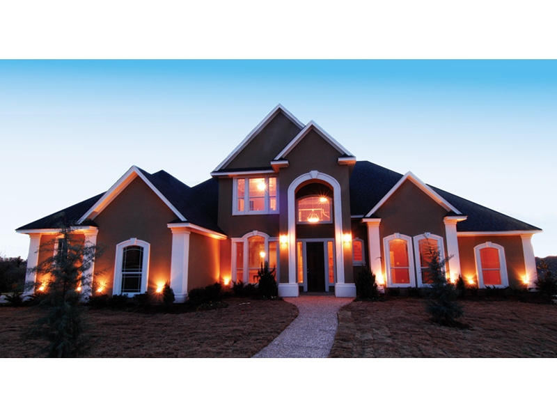 Traditional House Plan Front Photo 02 - 030D-0107 | House Plans and More
