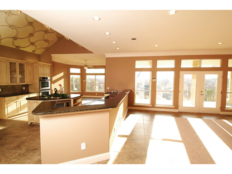 Traditional House Plan Kitchen Photo 04 - 030D-0107 | House Plans and More