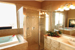 Traditional House Plan Master Bathroom Photo 02 - 030D-0107 | House Plans and More