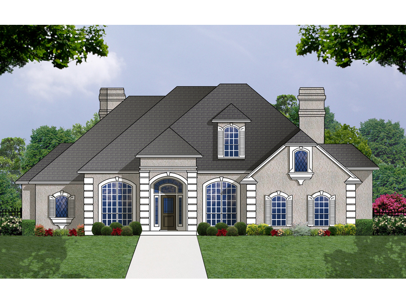 Modern European Home Perfect For The Sunbelt Region