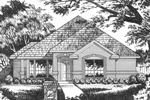 Decorative Columns Capture This Home Design