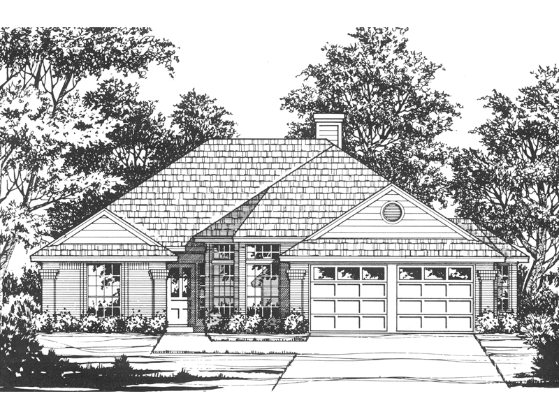 Modern House Plan Front of Home - 030D-0178 | House Plans and More