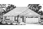Ranch Style Home With Brick Quoins