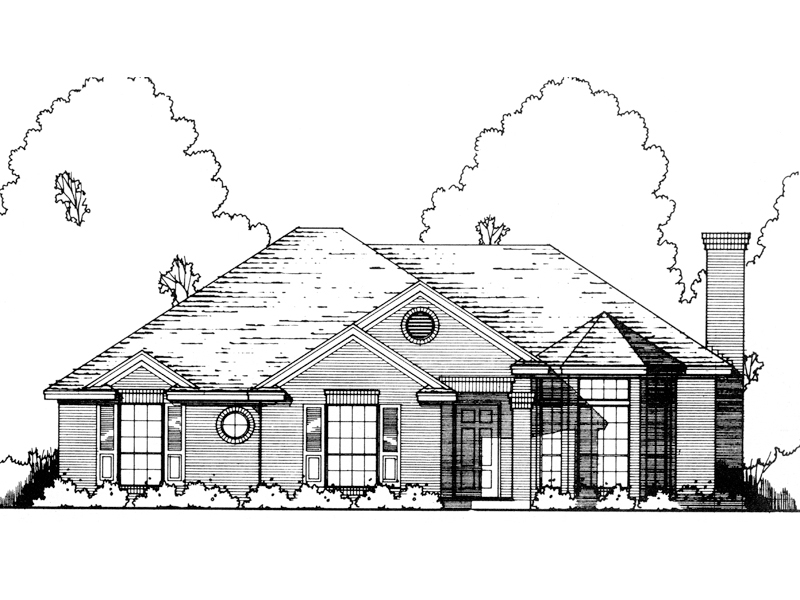 Modern House Plan Front of Home - 030D-0189 | House Plans and More