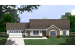 Traditional House Plan Front of Home - 030D-0231 | House Plans and More
