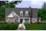 Southern Plantation Plan Front of Home - 030D-0238 | House Plans and More