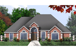 Traditional House Plan Front of Home - 030D-0239 | House Plans and More