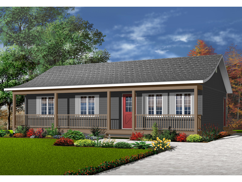 Front Photo 02 - 032D-0001 | House Plans and More