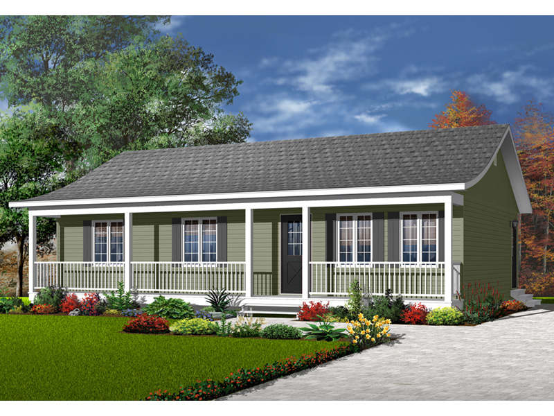 Front Photo 03 - 032D-0001 | House Plans and More