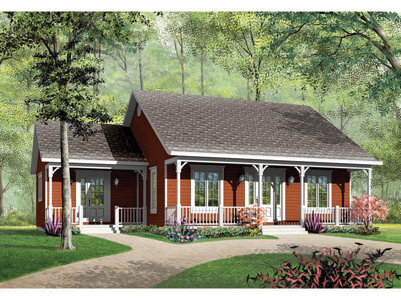 Front Photo 01 - 032D-0002 | House Plans and More