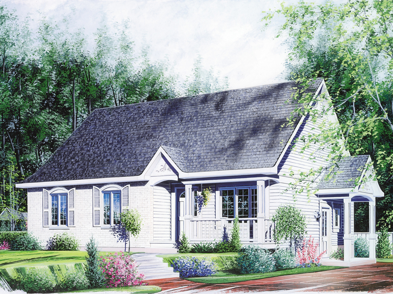 Well-Organized Country Cottage Home