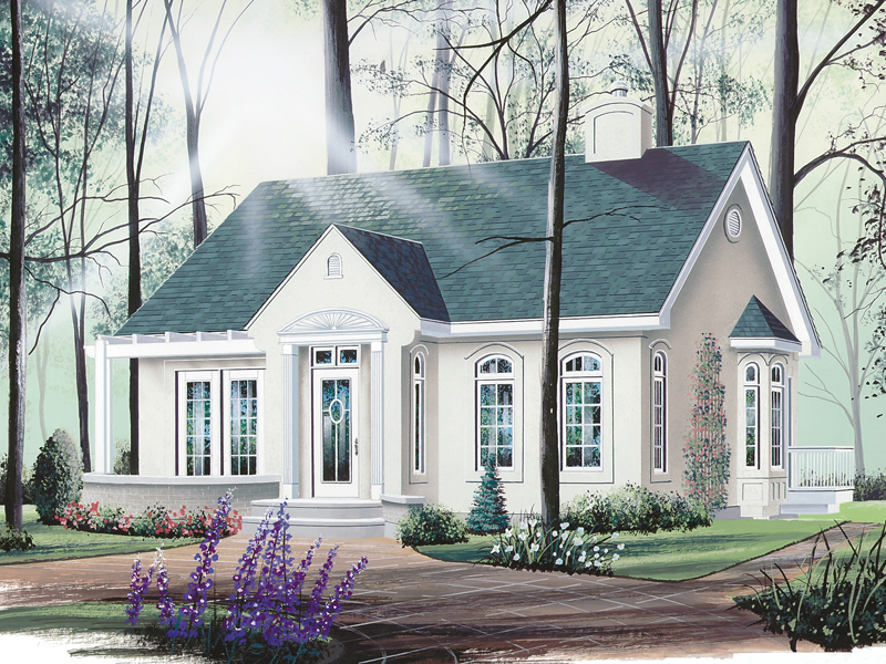 Front of Home - 032D-0010 | House Plans and More