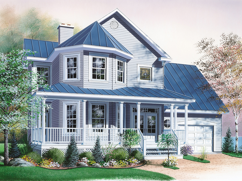 Beautiful Country Victorian Home