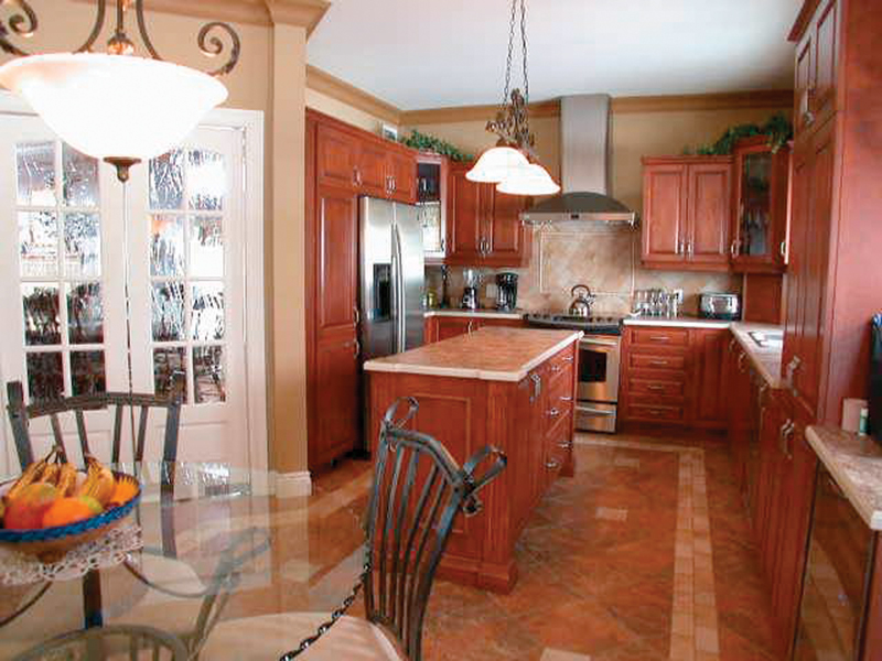 European House Plan Kitchen Photo - 032D-0023 | House Plans and More