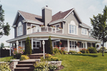 Cozy Arts & Crafts Home With Enticing Terrace