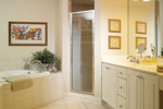 Neoclassical Home Plan Bathroom Photo 01 - 032D-0025 | House Plans and More