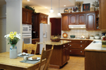 Neoclassical Home Plan Kitchen Photo 01 - 032D-0025 | House Plans and More