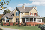 Craftsman House Plan Front Photo 01 - 032D-0026 | House Plans and More