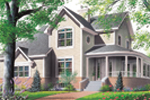 Craftsman House Plan Front Photo 03 - 032D-0026 | House Plans and More