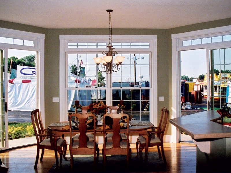 European House Plan Dining Room Photo 01 032D-0028