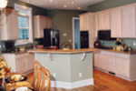 European House Plan Kitchen Photo 01 - 032D-0028 | House Plans and More