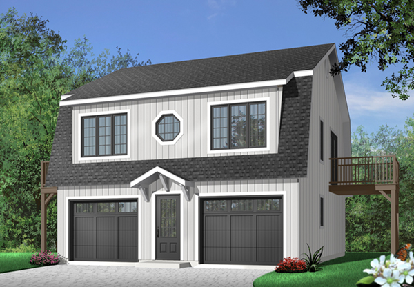 Whitecourt apartment garage plan 032d 0037 house plans for Carriage house plans cost to build
