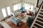 Waterfront Home Plan Living Room Photo 02 - 032D-0040 | House Plans and More