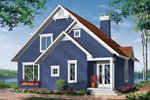 Vacation Home Plan Front Image - 032D-0042 | House Plans and More