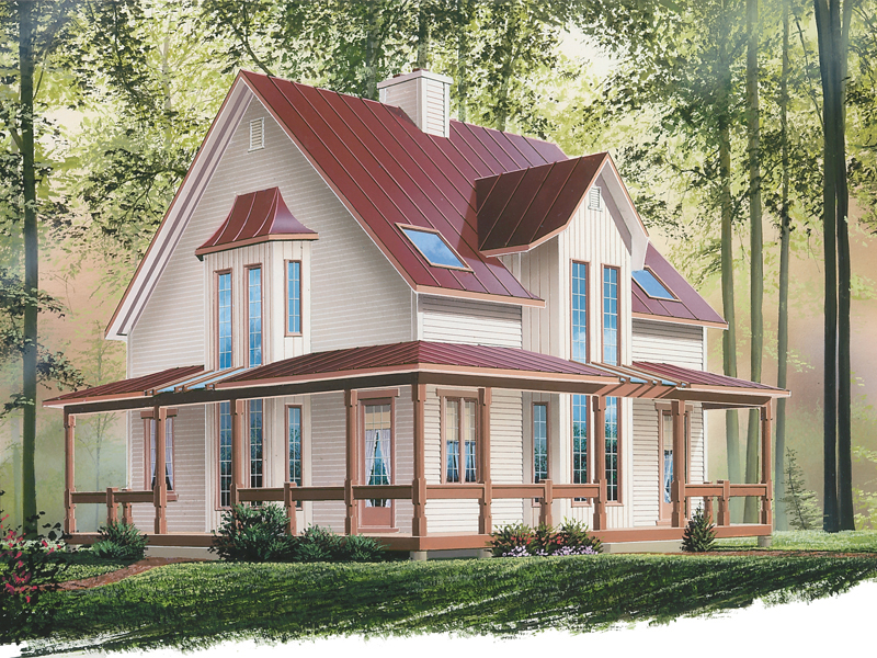 Beautiful Cabin Commands Attention