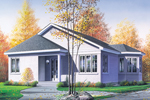 Contemporary House Plan Front of Home - 032D-0103 | House Plans and More