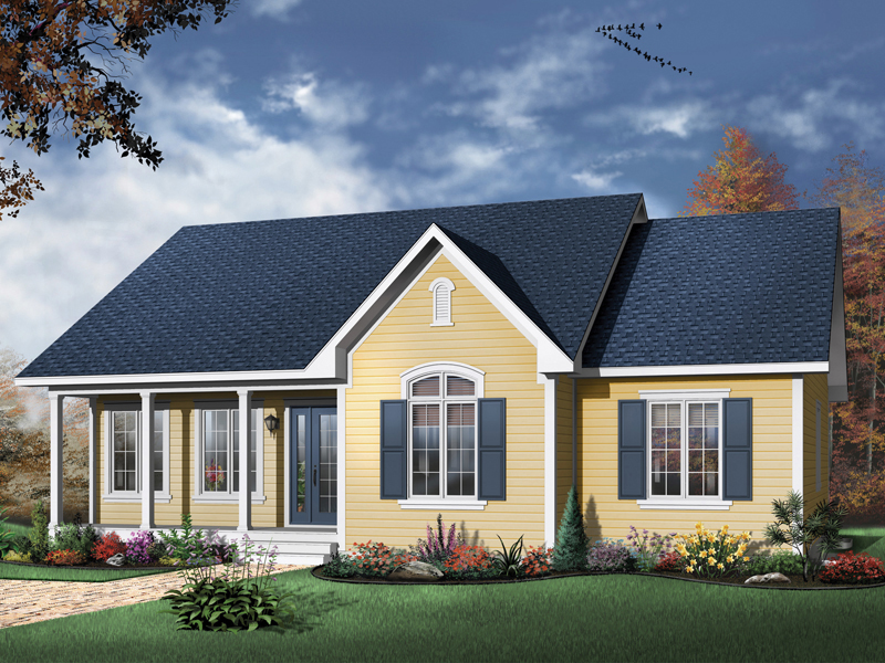 Country House Plan Front Image - 032D-0104 | House Plans and More