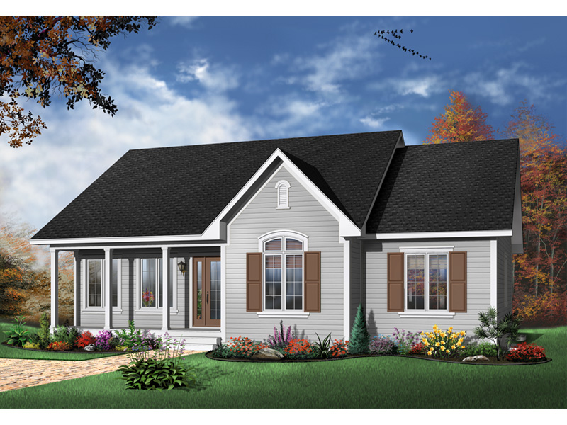Country House Plan Front Photo 01 - 032D-0104 | House Plans and More