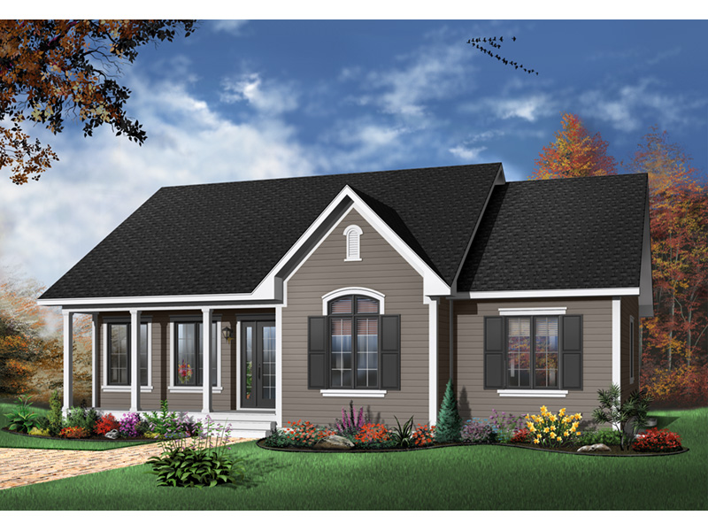 Country House Plan Front Photo 02 - 032D-0104 | House Plans and More